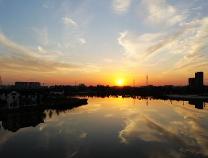 阳信高清航拍图 图说梨乡大而美