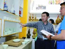 无棣海盐海瓷艺术品在深圳文博会大放异彩