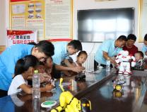 滨州学院机电工程学院暑期三下乡社会实践队走进阳信县张胜还村
