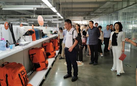 中国银行业协会及央媒来滨州调研金融服务创新发展