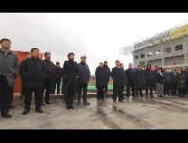 惠民县四套班子领导带领观摩团到十七冶项目调研