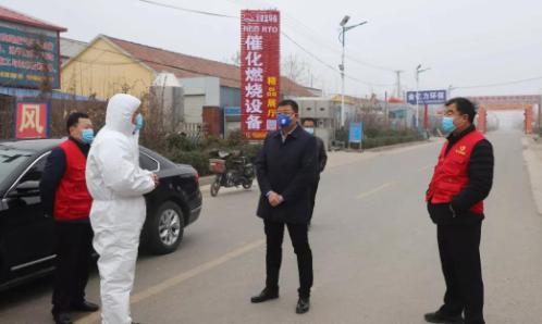 县区行动|邹平市委常委、明集镇党委书记王欣到部分村督导疫情防控工作
