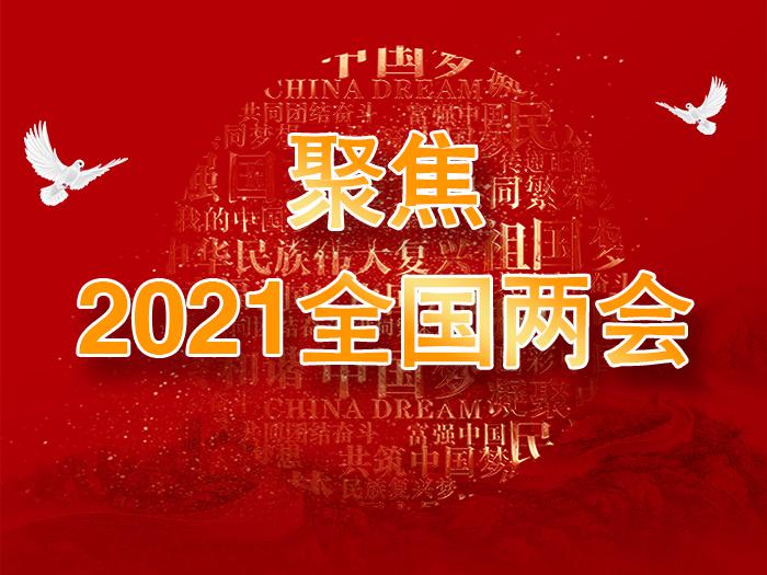 聚焦2021全国两会