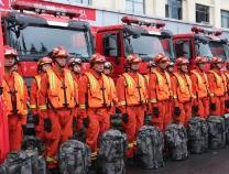 """迎战""""利奇马"""" 山东消防已做好准备"""