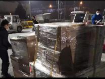 4.9万个欧洲产医用口罩和N95防护口罩驰援滨州 还有一批在运送中