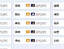 """山东寒潮蓝色预警继续!0℃以下+霜冻,山东开启""""晴冷""""模式"""