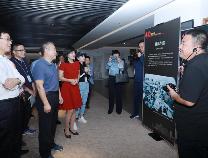 第五届全国网络媒体滨州行首站:走进滨州城市规划展览馆