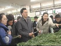 山东优质韭菜产销联盟基地准入标准在惠民县发布