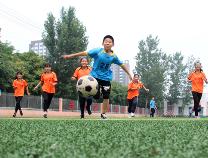 """滨州高新区深化足球改革 让足球""""炫""""动校园"""