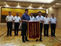 青海省祁连县向我市捐赠抗洪救灾款100万元 捐赠物资折价107万元