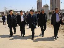 市领导到滨州职业学院调研