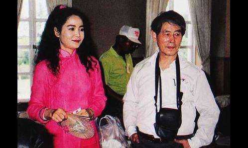 无棣籍旅美书画家李山与邓丽君的一面之缘