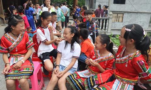 滨州孩子研学在恩施 满满的土家文化体验