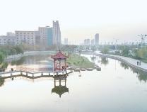 滨州市区水系连通配套工程完工 城区四段河渠实现活水畅流