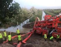 博兴县湖滨镇受灾村庄已排除积水230万余方