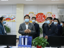 """佘春明到滨城区文汇社区展开""""双报到""""活动"""
