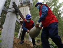 滨州供电公司加固电力举措措施 全力抵抗黄河洪水