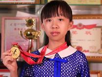 开学第一天,全运会小冠军徐小雅与同学们分享受到习总书记接见的难忘经历