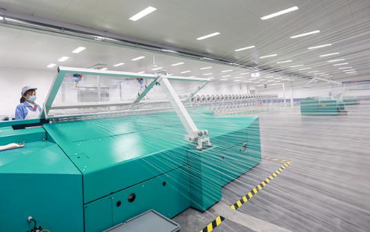 渤海湾畔春来早|科技赋能!魏桥纺织再创多个行业第一,建成全程质量可追溯透明工厂
