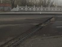 滨州城区两处路面裂缝凹陷 市住建局:已开始维修