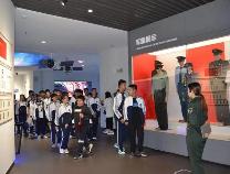 北镇中学组织学生赴市人防科教体验馆开展主题研学活动