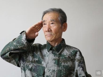 【视频】老兵卢兆维:有党和人民的信任 ,战死沙场也此生无憾