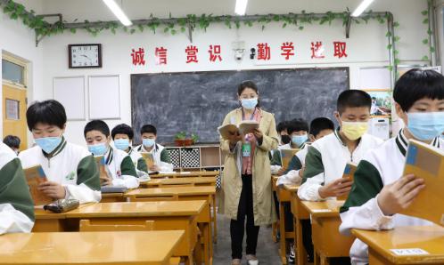 博兴县5047名初三学生返校复课