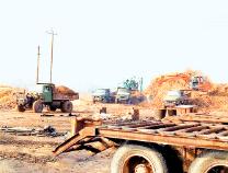 梁才街道从废窑厂里复耕出土地8.13公顷