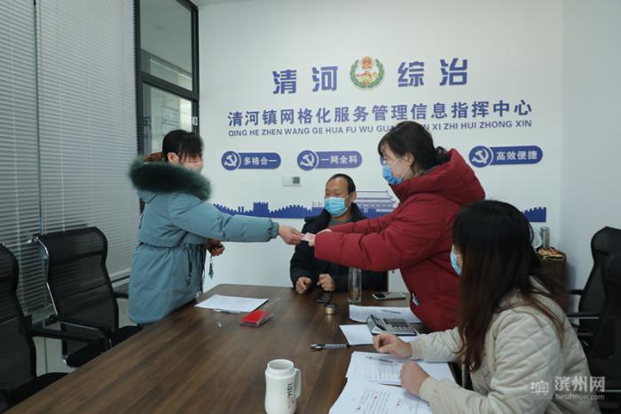 惠民县清河镇政府给力!60名农民工追回被拖欠工资