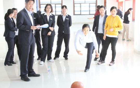 """滨州中行举办""""三八""""妇女节 趣味运动会"""