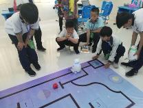 惠民县清河镇中学又在滨州市创客节上夺冠