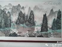 三河湖镇中心小学开展庆祝中国共产党成立100周年师生书画作品展