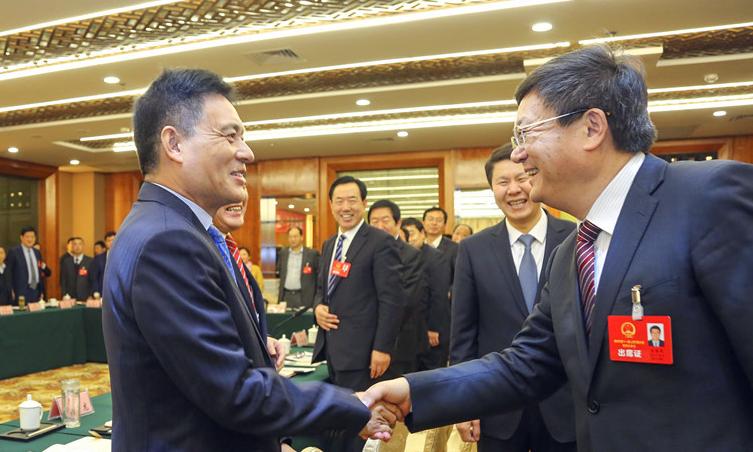 佘春明参加滨城博兴无棣代表团审议:营造让企业茁壮成长的良好生态