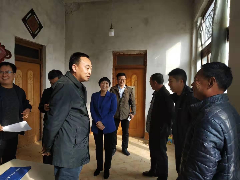 省扶贫开发办宣传统计组副组长曲永利到惠民县调研动态管理工作