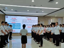 无棣县政务服务中心各版块互帮互学促服务提升
