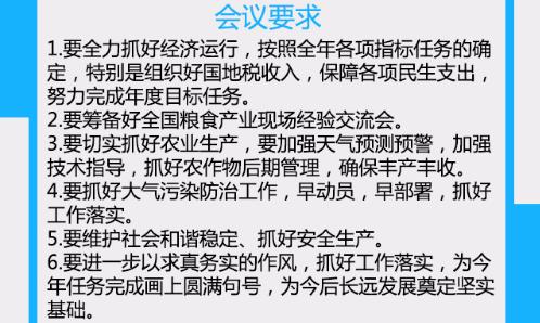 【一图读懂】滨州市政府第9次常务会议 抓好农业生产、安全生产
