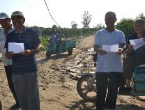 滨州市农业农村局技术人员到沾化区指导灾后枣园管理