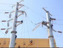 滨州城区渤海五路(东方红路口至永莘路段)架空光缆率先完成落地割接改造