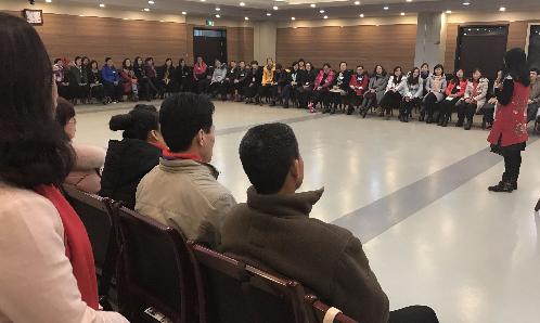 滨州市中小学教师心理实操技能培训项目第二期开课