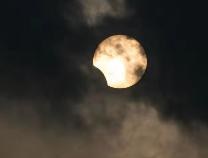 今天您在滨州看到日偏食了吗?