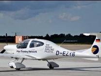 滨州造钻石DA40D飞机亮相中国国际航空航天博览会