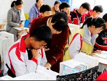 无棣车王镇中学举行同课异构教研活动