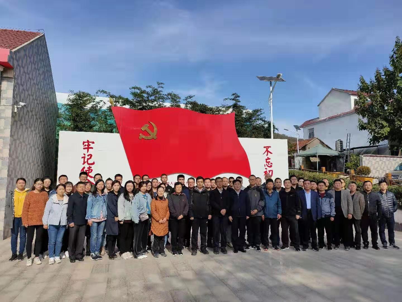 我市组织市县扶贫干部120余人(分两批)到淄博市沂源县集中培训