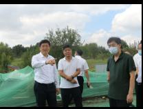 佘春明现场调研滨州城区重点项目建设情况