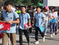 阳信县9599名考生参加初中学业水平考试
