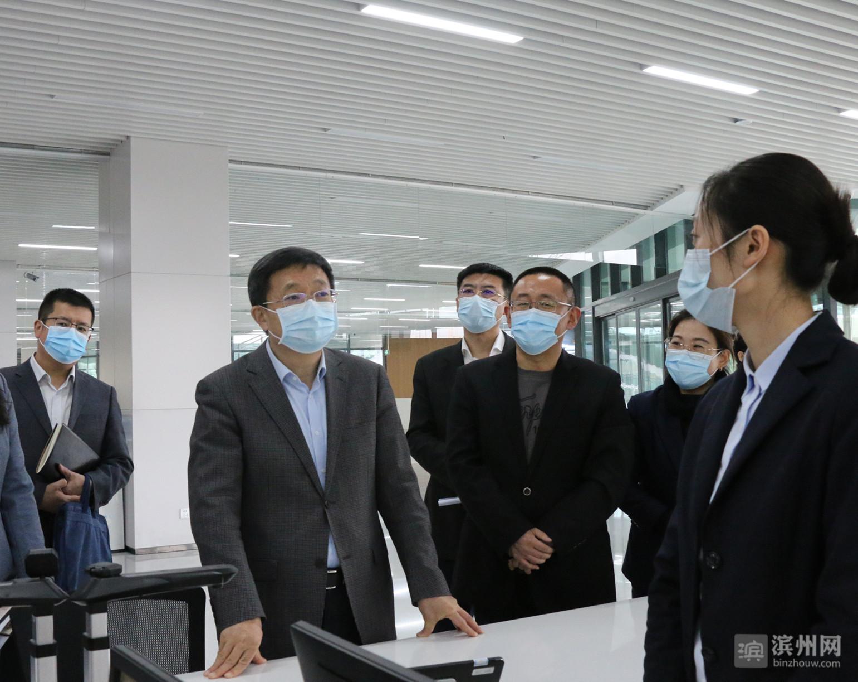 佘春明到渤海先进技术研究院调研